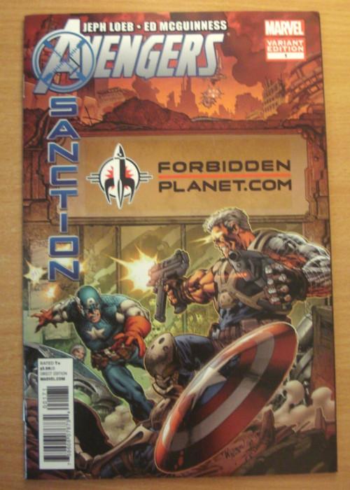 Avengers X-Sanction #1 . Marvel Comics foto mare