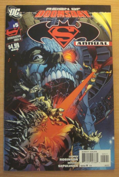 Batman and Superman Annual #5 . DC Comics foto mare