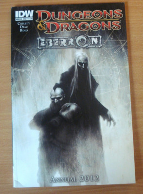 Dungeons and Dragons - Eberron Annual 2012 . IDW Comics foto