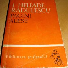 PAGINI ALESE - I. Heliade - Radulescu