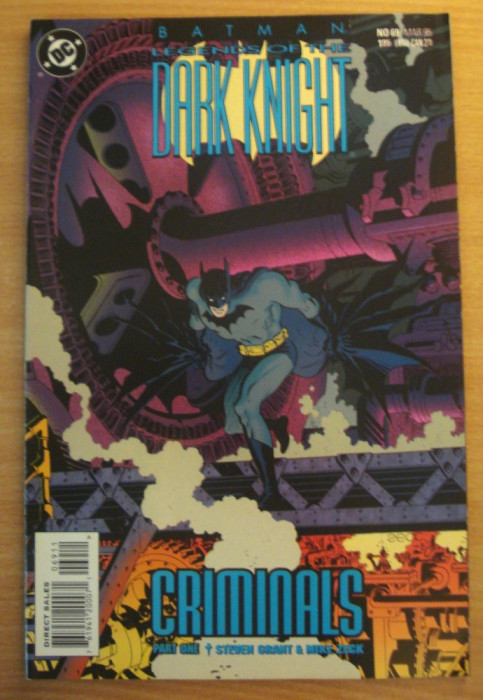 Batman Legends Of The Dark Knight #65 . DC Comics foto mare