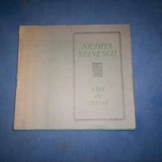 CLAR DE INIMA NICHITA STANESCU - Carte poezie