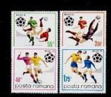Romania 1970 - Fotbal,serie completa,neuzata