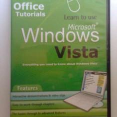 Tutorial (sa invatam a lucra cu) Windows Vista - 1 CD in limba engleza - Sistem de operare