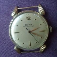 Ceas DOXA ( Aur 14k ) - Ceas barbatesc Doxa, Lux - elegant, Mecanic-Automatic, Inainte de 1940