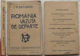 Nicolae Batzaria , Romania vazuta de departe , Editura Viata Romaneasca , 1922, Alta editura