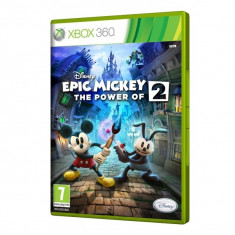 Disney Epic Mickey 2 The Power of Two PS3 XBOX360, Arcade, 3+, Single player