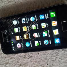 SAMSUNG GALAXY ACE GT S5830 BLACK FULL CARD 8GB SCHIMB IPHONE 4 4S S2 XPERIA, Negru, Neblocat, 3.5''