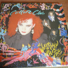 CULTURE CLUB Waking up with the house on fire disc vinyl muzica pop mapa texte