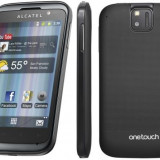 Alcatel OT 991 - Telefon Alcatel, Negru, Orange