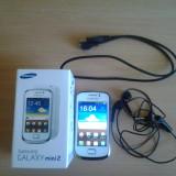 Telefon Samsung Galaxy S2 Mini - Telefon mobil Samsung Galaxy Mini 2, Alb, Neblocat