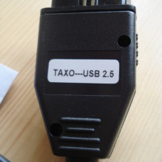 CABLU TACHO 2.5 CU CIP FTDI ENGLEZESC AJUSTARE KM GAMA VAG 1998-2005
