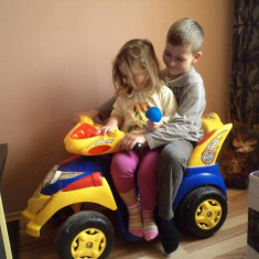 ATV electric pentru copii - Masinuta electrica copii, Unisex