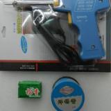 Set pistol de lipit HS-400 30-70W + scacaz + fludor