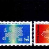 Romania 1971 colaborarea ,cat.nr.2602-3,serie completa neuzata