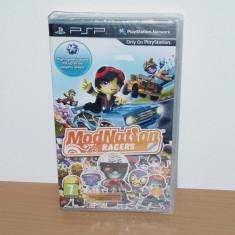Joc UMD pt PSP - Modnation Racers , nou , sigilat, Curse auto-moto, 12+, Multiplayer