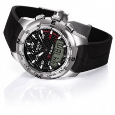 Vand ceas Tissot T-Touch II - Ceas barbatesc Tissot, Lux - sport, Quartz, Titan, Plastic, Altimetru