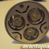 BEC 3 LED-uri 3W FASUNG NORMAL E27 .12V, Becuri LED