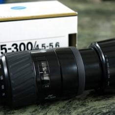 Obiectiv Minolta AF 75-300 f 4, 5-5, 6 montura Sony Alfa NOU - Obiectiv DSLR Sony, Tele, Autofocus, Sony - E