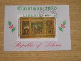TS - TIMBRE LIBERIA - COLITE, Stampilat