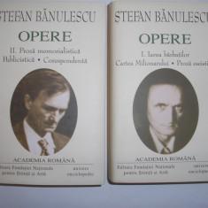 Stefan Banulescu - Opere (2 volume),rf1
