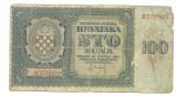 CROATIA BANCNOTA 100 KUNA 1941