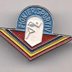 Insigna-PIONIER SPORTIV, Romania de la 1950