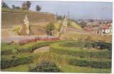 CP circulata 1969,Alba Iulia,cetatea,zidurile cetatii