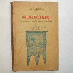 A V. Boldur Istoria Basarabiei Vol I Epocile vechi pana in sec. XVII Chisinau 1937 - Carte Istorie