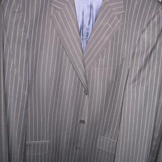 Vand costum barbat ZARA mar .56 - Costum barbati Zara, Culoare: Negru, 3 nasturi, Normal, 48 sau mai mare