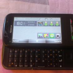 NOKIA C6-00 - Telefon mobil Nokia C6, Negru, Vodafone