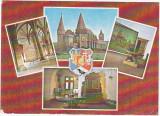 CP circulata 1977,Hunedoara,castelul huniazilor,colaj