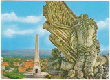 CP necirculata,Alba Iulia,cetatea,monument,poatra 3-detaliu