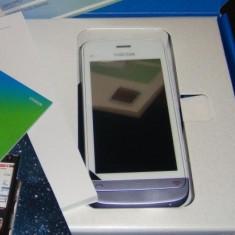 Nokia C5-03 White Lilac - Telefon mobil Nokia C5-03, Alb, Vodafone