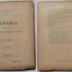 Dr. Antipa , Dunarea si problemele  ei stiintifice si politice , 1921 , editia 1