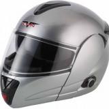 Casca moto cu bluetooth, Flip-up