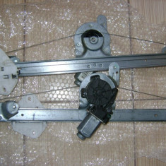 Set macarale electrice fata logan, kit montaj macarale electrice logan - Macara geam, Dacia, LOGAN (LS) - [2004 - 2012]