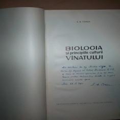 Biologia si principiile vanatului-A.M.Comsia(cu semnatura si dedicatie) - Carte Biologie