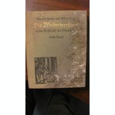 "CY - ""Domnia Femeilor in Istoria Omenirii"" de E. Fuchs si A. Kind / Vol. I + II"