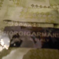 Cravata Giorgio Armani MATASE NATURALA MOTIV FLORAL NUANTE DE VERDE, Geometric
