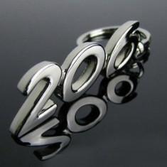 Breloc crom Peugeot 206 - Breloc Auto