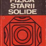 GH. CIOBANU, C. CONSTANTINESCU: FIZICA STARII SOLIDE, vol. I