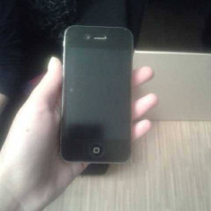 iPhone 4s Apple 16 GB neverlocked black impecabil 1200 RON, Negru, Neblocat