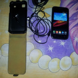 Vand Urgent Samsung Galaxy S i9000 NEGOCIABIL, URGENT !!! - Telefon mobil Samsung Galaxy S, Negru, 8GB, Neblocat