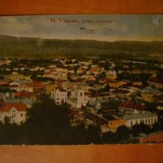 Carte postala Ramnicu Valcea Vedere Generala circulata 1921 ed Galeria de Cadouri Maier & Stern Bucuresti Romania interbelica carta Rimnicu Vilcea - Carte Postala Muntenia dupa 1918