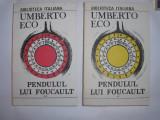 Pendulul lui Foucault _ (vol. I - II) - Umberto Eco RF2/3, 1991