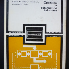 Optimizari in automatizari industriale - S. Calin - Carte retelistica