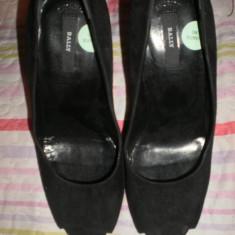 Pantofi dama bally - Pantof dama Bally, Negru, Marime: 37