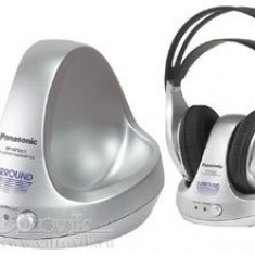 Casti panasonic wirless rp-wf930t, Casti On Ear, Wireless, Active Noise Cancelling