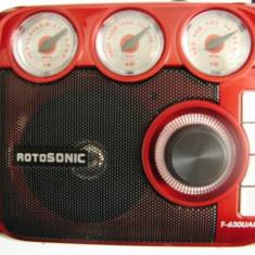 MP3 PLAYER ROTOSONIC CU CITITOR DE STICK USB SI CARD,RADIO FM DIGITAL,LANTERNA LED.MP3 PLAYER RETRO. SUPER.